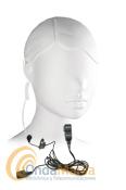 MIDLAND MA-31L PINGANILLO INTRAUDITIVO PARA G5, G7, G8,G9, WINTEC,..  - Midland MA-31L micrófono auricular ergonómico intrauditivo transparente con cable rizado ideal para el Midland G7, G8, G9, G5,... El micrófono auricular tiene un conmutador para poder utilizar el Midland G-7 con VOX o PTT. Tambien en compatible con el Wintec LP-4502.