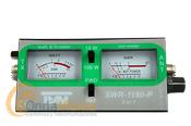 TEAM SWR-1180P MEDIDOR DE ROE Y WAT�METRO PARA CB CON DOBLE INSTRUMENTO - Medidor de ROE (estacionarias) yvat�metrocon doble instrumento para la banda de 27 Mhz - banda ciudadana.