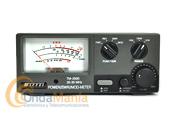 NISSEI TM-2000 MEDIDOR DE ROE Y VATIMETRO DE 26 A 30 MHZ - Medidor de estacionarias ROE y vatimetro PEP (con retardo especial para medir SSB y AM) para un rango de frecuencias de 10 y 11 metros de 26 a 30 Mhz.