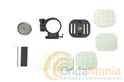 BULLET HD KIT J; KIT DE ADAPTADOR UNIVERSAL RECAMBIOS (5 UNIDADES) -  Soporte con 2 piezas, dispositivo sencillo, ideal para fijar con doble adhesivo en superficies planas.