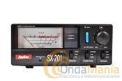 PIROSTAR SX-201 - Medidor de ROE y Watimetro Pirostar SX-201 con un rango de frecuencias desde 1.8 Mhz. hasta160 Mhz.