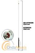 D-ORIGINAL HF-750 SUPER ANTENA MOVIL HF 7 BANDAS + 50 MHZ - Antena m�vil de HF 7, 14, 18, 27, 29, 35, 38 y 50 Mhz, con una potencia max. de 120W, una ganancia de 2,15 dBi, conector PL,....