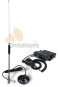 TTI TECH TCB-771 + MIDLAND 18-244 - Laemisora TTI TCB-771 es un equipo de Banda Ciudadana (27 Mhz) de f�cil manejo, que incluye una antena magn�tica Midland 18-244. Funciona a 12 y 24 V.