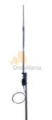 D. ORIGINAL OUT-250-F - Antena vertical de banda ancha de fibra de vidrio con una altura de 7,16 m. y una frecuencia de 3,5 - 57 Mhz. sin radiales.