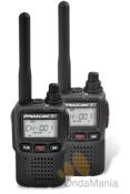 PAREJA PMR DYNASCAN AD-09 CON PROGRAMACION ESPECIAL - La pareja de PMR Dynascan AD-09 es una de las mas ligeras y completas del mercado, incluye bater�a de Ion-Litio, cargador, pinganillos, tonos CTCSS, DCS, incluyen radio de FM,... Si dispone de otros PMR de diferente marca puede elegir la configuracion de sus AD-09 para que sean totalmente compatibles.