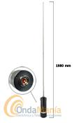 DIAMOND BB2M ANTENA MOVIL MULTIBANDA ORIGINAL JAPON - Antena m�vil de HF y 50 Mhz., con 1,98 m., 800 gramos y una potencia m�xima de 120W en banda lateral y 40 W en FM.