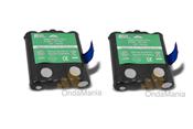 PACK DOBLE AP-4003H DE BATERIAS PARA MOTOROLA TLKR T5 Y T7 - Pareja de baterias de Ni-Mh para PMR Motorola TLKR T5 y T7