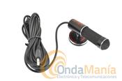 MICROFONO OPCIONAL PARA MANOS LIBRES SERIES AV  - Micr�fono de solapa de gran calidad y gananciapara las series TelecomAV, ideal para una buena transmisi�n enequipos Yaesude VHF