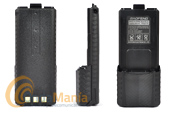 BATERIA DE ALTA CAPACIDAD 3800 mAh PARA EL BAOFENG UV-5  - Batería de muy alta capacidad con 7,4 V y 3800 mAh para el Baofeng UV-5 y el Handytron UV-7