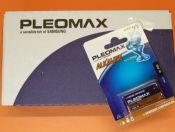 PILA 6LR61 9V. SAMSUNG CAJA CON 10 PILAS - Caja de 10 pilas Samsung alcalinas 6LR61 de 9 V.