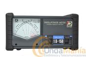 DAIWA CN-101L MEDIDOR DE ROE Y WATIMETRO - Medidor Daiwa CN-101Lde agujas cruzadas con un rango de frecuencias desde 1.8 Mhz. hasta150 Mhz.
