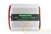 PRESIDENT CV-24/12 12 AMP. - Reductor de tensi�n de 24 V a 12 V con 12 Amp. max.