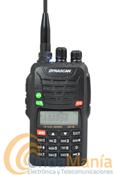 DYNASCAN DB-75E V2 WALKY DOBLE BANDA CON BATERIA DE ALTA CAPACIDAD 1700 MAH, RADIO FM,...