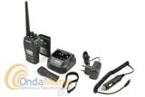 DYNASCAN R-58 V12/24V PMR  PROFESIONAL DE USO LIBRE CON RECEPTOR DE RADIO FM + PINGANILLO DE REGALO - Nueva versión del Dynascan R-58 con posibilidad de carga en coche a 12 V o en camión, gruas,... a 24V utilizando su bañera de carga y un cable de encendedor a 12 o 24 V el walky posee certificación IP67: protección total contra el polvo y agua, puede sumergirse hasta 1 metro durante 30 minutos. Incluye batería de Ion-Litio, cargador de sobremesa rápido, radio FM, pinganillo de regalo,...