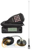 PACK DYNASCAN M-24 MINI EMISORA VHF+ANTENA DIAMOND+BASE MAGNETICA