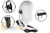 KENWOOD EMC-6 MICROFONO AURICULAR - Micro-auricular Kenwood EMC-6 es un micr�fono de solapa con un auricular de gran calidad a un gran precio.