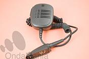 MICROFONO ALTAVOZ M-16GP320 - Micro-altavoz de mano con clip giratorio y met�lico para port�tiles Motorola GP-340 y GP-320.