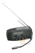 ETON MICROLINK FR-140 - Radio anal�gica con AM y FM, incorpora luz de emergencia, dinamo, placa solar,....