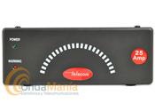 TELECOM AV-825BC - Fuente de alimentaci�n Telecom AV-825BC conmutada extraplana sin instrumentos, 220V. C.A. a 13,8V C.C., de 20 a 25 Amp. y 0,90Kg. Con salida de bornes para carga de bater�a (en tamp�n).