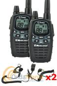 MIDLAND G7E PRO PAREJA PMR DE USO LIBRE + 2 PINGANILLOS - Nuevo Midland G7 Pro. Dual PTT, side tone, audio profesional, 38 CTCSS, 104 c�digos DCS, dual watch, vibracall, vox, scan.
