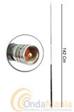 DIAMOND HF-40FX ANTENA MOVIL (ORIGINAL) HF MONO BANDA 40 MTS (7 MHZ) - Antena movil mono-banda original fabricada en jap�n con 1,4 mts de longitud para la banda de 40 Mts (7 Mhz)