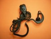 TELECOM JD-2304 - Micr�fono auricular para Yaesu serie VX. (VX-110, FT-60,...)con PTT robusto y auricular ergon�mico con cable rizado.