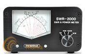 SWR-2000 MEDIDOR DE ROE Y WATIMETRO DE AGUJAS CRUZADAS - Medidor de estacionarias y watimetro de agujas cruzadas con un rango de frecuencias de 25 a 30 Mhz
