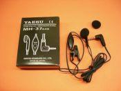 YAESU MH-37A4B - El Yaesu MH-37A4B es un micrófono auricular miniatura para los Yaesu VX-110, VX-150, FT-60, FT-50,...