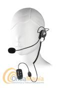 MIDLAND WA-29 MICRO-AURICULAR BLUETOOTH - Micrófono auricular Bluetooth con auricular con sujeción a la nuca y micrófono tipo boom (tipo Madonna) incluye  PTT, requiere el Midland WA-Dongle o el WA-Dongle K.
