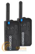 PAREJA DE KENWOOD PRO-TALK LT PKT 23 WALKI-TALKIES DE USO LIBRE+2 PINGANILLOS DE REGALO - Pack compuesto por una pareja de  Kenwood PKT-23; es un transceptor UHF FM de uso libre PMR-446 fácil de utilizar, delgado, ligero y resistente. Cumple con los estándares IP54 y once estándares US MIL-STD, incluye batería de litio, cargador rápido y sintetizador de voz en castellano para anunciar el cambio de canales.