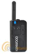 KENWOOD PRO-TALK LT PKT 23 WALKI-TALKIE DE USO LIBRE+PINGANILLO DE REGALO - El Kenwood PKT-23 es un transceptor UHF FM de uso libre PMR-446 fácil de utilizar, delgado, ligero y resistente. Cumple con los estándares IP54 y once estándares US MIL-STD, incluye batería de litio, cargador rápido y sintetizador de voz en castellano para anunciar el cambio de canales.