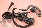 MICROFONO AURICULAR JD-30TA288R VOX - Micr�fono auricular para PMR Motorola con funci�n VOX