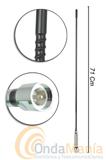 S-1000 ANTENA MOVIL PARA 27 MHZ - Antena de 27 Mhzcon conector PL y 71 cm de longitud