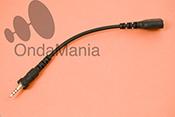 CABLE DE MIC PARA CONVERTIR TOMAS VX-7/6/120/170 A STANDART - Adaptador de micr�fono para Yaesu VX-7/VX-6/VX-120/VX-170 a cualquier tipo de micr�fono auricular o micr�fono altavoz tipo standart.