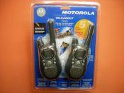 MOTOROLA T-5622 - La pareja de PMR MOTOROLA T-5622 con baterias y cargador es la soluci�n perfecta para sus momentos de ocio en cualquier terreno.