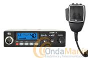 TTI TECH TCB-775 - Transceptor de banda ciudadana 27 Mhz. con AM y FM, con un cable de micr�fono extra-largo y subida y bajada de canales desde el micr�fono, incluye funci�n scan, ganancias de micro y RF,...