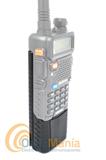 BAOFENG UV-5R V2 WALKIE DOBLE BANDA CON BATERIA DE GRAN CAPACIDAD 3800 MAH+PINGANILLO+PORTE GRATIS - Nueva versi�n V2 del Baofeng UV-5R con bater�a de gran capacidad 3800 mAh, es undoble banda homologado con visualizaci�n del men� de funciones en el LCD, bater�a de Ion-Litio de alta capacidad 1800 mAh., tonos DCS y CTCSS, 128 canales de memoria, radio de FM comercial,....
