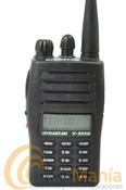 DYNASCAN V-500N VERSION CAZA. SUBSTITUIDO POR DYNASCAN V-600. - El Dynascan V-500 (homologado por la federación de caza)  es un transceptor portátil de VHF profesional, de reducido tamaño pero de altas prestaciones, con batería de Ion-Litio de alta capacidad (1200 mAh), cargador de sobremesa, 5W de potencia, 128 canales de memoria,...