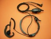 TELECOM X-20TA - El Telecom X-20TA es un laringofono con un PTT y un auricular ergon�mico con cable rizado para Motorola PMR (T-5022, T-5622...)