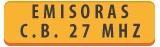 EMISORAS-TRANSCEPTORES » BANDA CIUDADANA 27 MHZ (CB)
