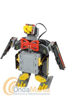 JIMU ROBOT NIVEL EXPLORADOR - Jimu Robot es un kit interactivo de bloques de construcción para construir tu propio robot y programar sus movimientos a través de una APP gratuita.