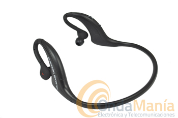 MIDLAND SUBZERO SPORTEK - Auricular estéreo Bluetooth diseñado ergonómicamente para su uso con teléfonos móviles, PCs Bluetooth,PDA,s y cualquier dispositivo que incorpore Bluetooth. Ideal para prácticas deportivas.