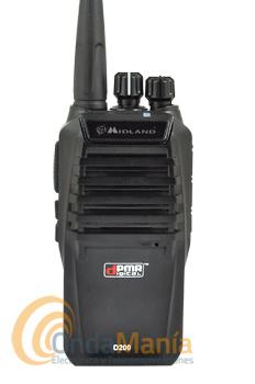MIDLAND D-200 PMR ANALOGICO/DIGITAL DE USO LIBRE DPMR+PINGANILLO DE REGALO - El Midland D-200 es un PMR analógico y DPMR digital de uso libre, incluye 8 canales analógicos y 8 digitales, dispone de secrafonia/scrambler digital de 32 bit, batería de alta capacidad de Ion-Litio con 1800 mAh,...