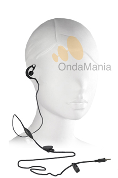 MICRO-AURICULAR PARA DYNASCAN Y TECOM - Micrófono auricular para Dynascan R10 y Tecom PS