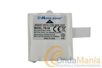 BATERIA MIDLAND PB-G6/G8/M48/M99 - Batería Midland para los G8, G6, M48 y M99