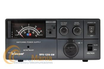 TELECOM RPS-1250-SW FUENTE DE ALIMENTACION CONMUTADA CON INSTRUMENTOS Y REGULABLE