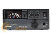 TELECOM RPS-1250-SW FUENTE DE ALIMENTACION CONMUTADA CON INSTRUMENTOS Y REGULABLE - Fuente de alimentación compacta, con supresor de ruido, regulable de 9 a 15 V con na intensidad máxima de 50 Amp., incluye toma de encendedor y dos tomas (+ / -) de conexión hembras en la parte posterior.