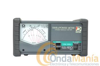 DAIWA CN-102L MEDIDOR DE ESTACIONARIAS Y VATIMETRO