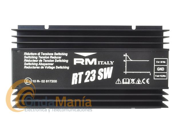 RM RT-23SW REDUCTOR DE 24V A 12 V CON 23 AMP.