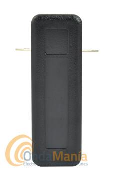 PINZA TELECOM UNIVERSAL SJA-103 - Clip (pinza) de cinturón universal de repuesto para walky talkys.